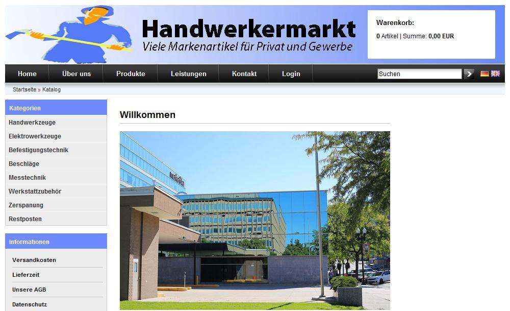 Onlineshop für KMU Onlineshop Kleingewerbe