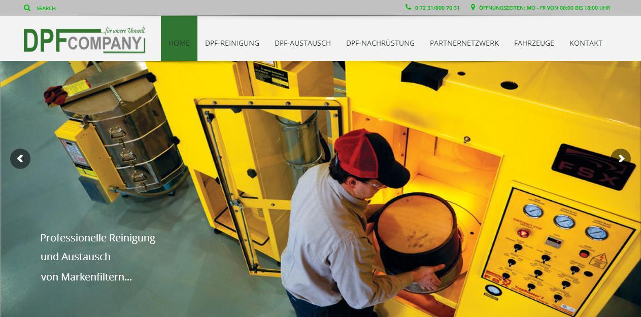 Website DPF-Company