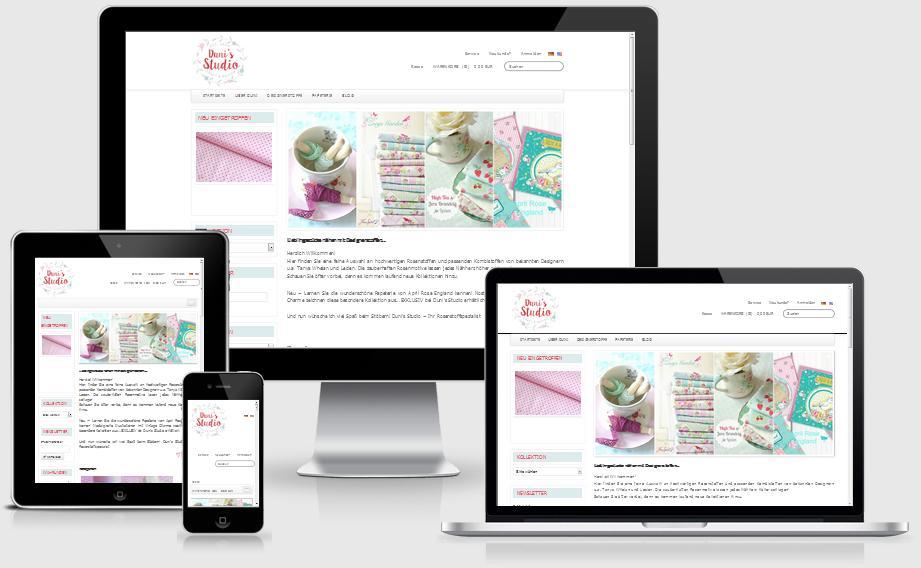 Online Shop - Duni's Studio