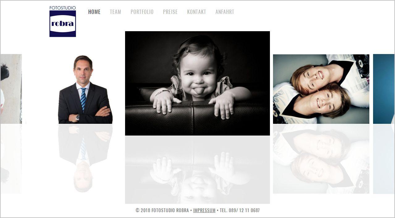 Website - Fotostudio robra